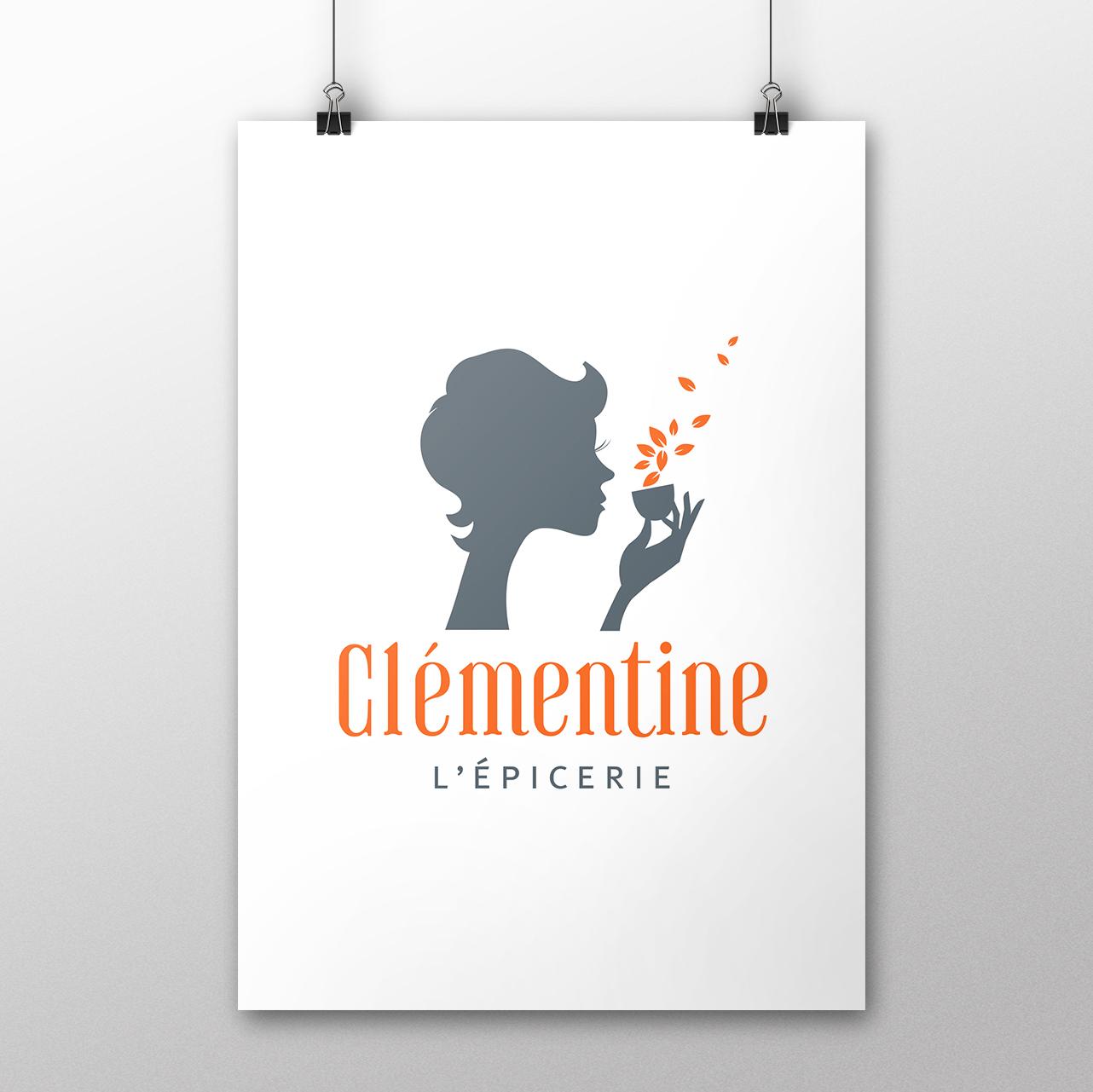 CLÉMENTINE, LÉPICERIE